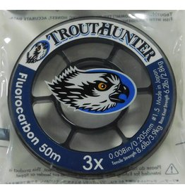 Trouthunter TroutHunter Fluorocarbon Tippet 3X 50m