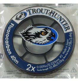 Trouthunter TroutHunter Fluorocarbon Tippet 2X 50m