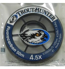 Trouthunter TroutHunter Fluorocarbon Tippet 4.5X 50m