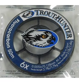 Trouthunter TroutHunter Fluorocarbon Tippet 6X 50m