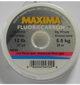 Maxima Maxima Fluorocarbon Leader Wheel 12lb