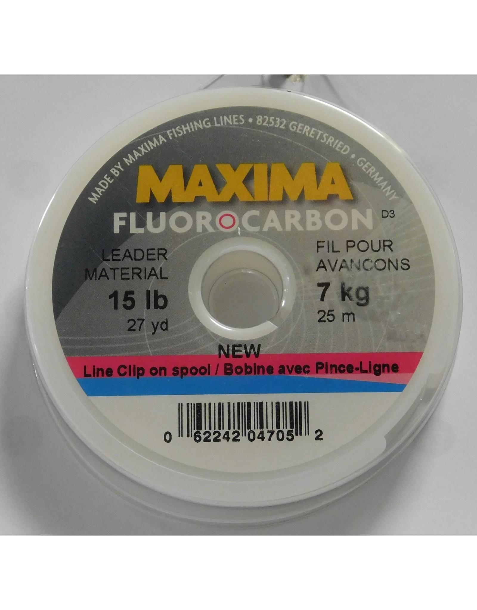 Maxima Maxima Fluorocarbon Leader Wheel 15lb