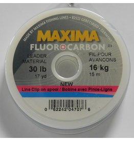 Maxima Maxima Fluorocarbon Leader Wheel 30lb