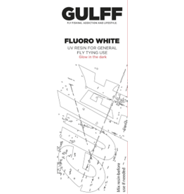 Gulff Gulff Fluoro White - Glow In The Dark