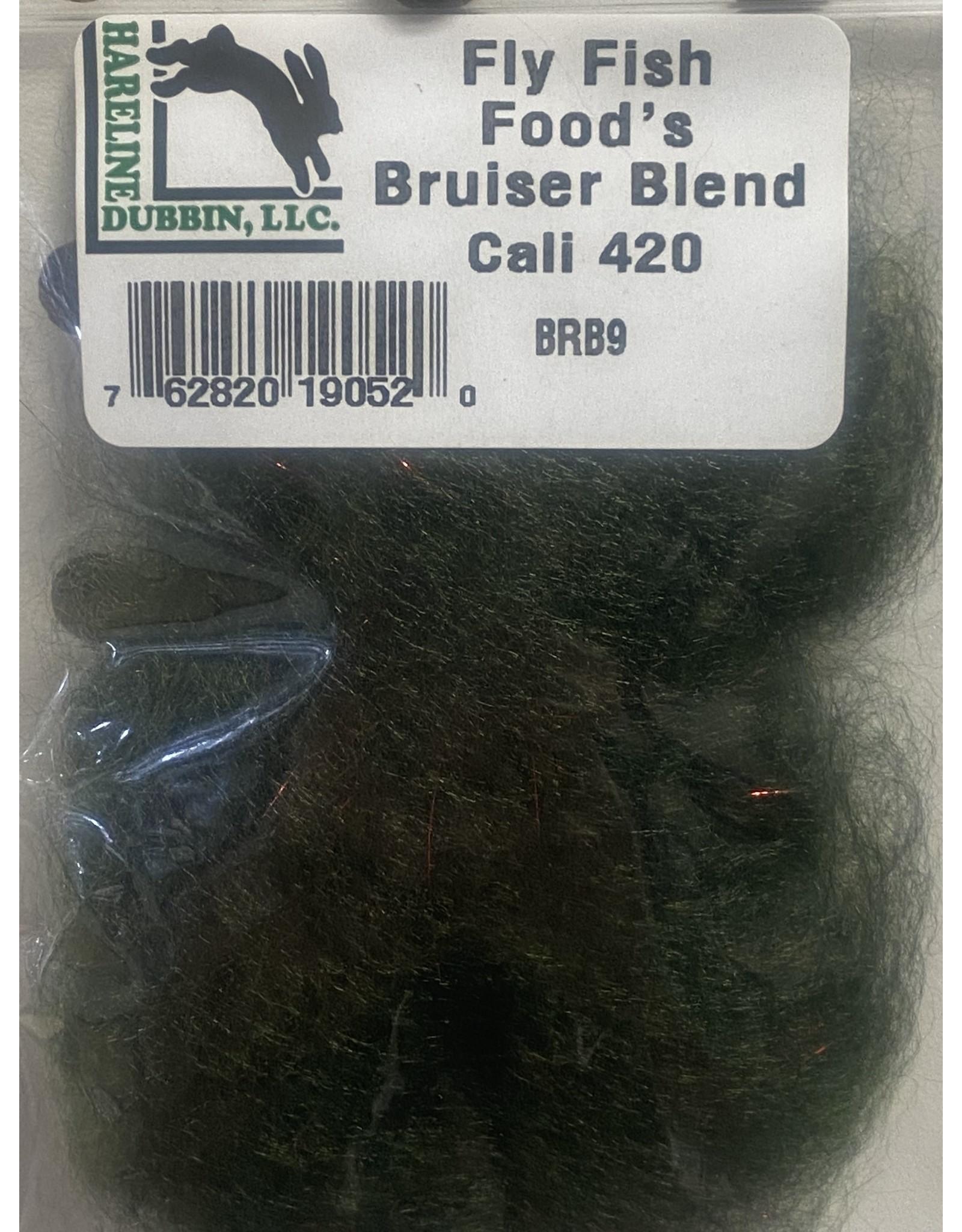 Hareline Fly Fish Food's Bruiser Blend #9 Cali 420