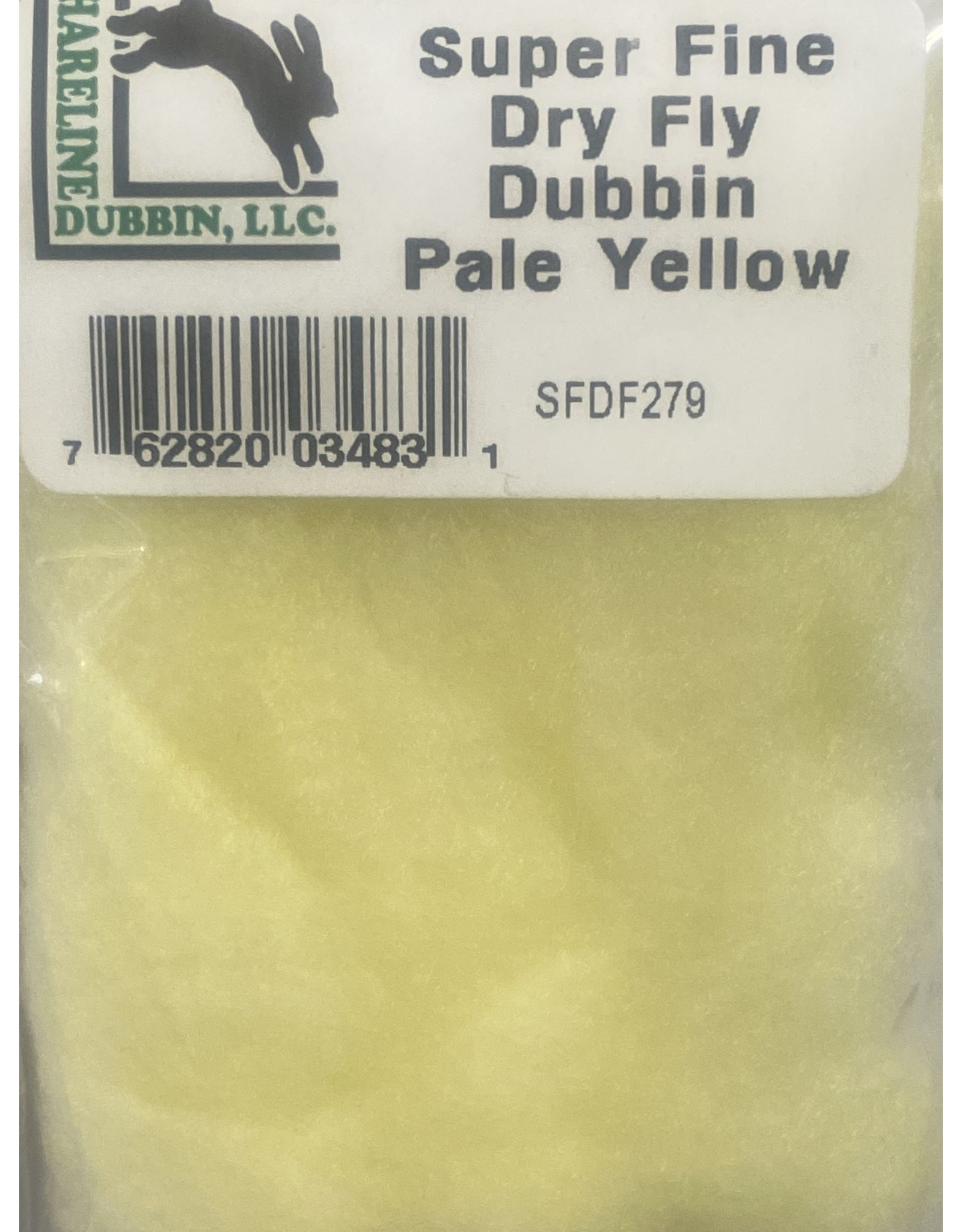 Hareline Superfine - Pale Yellow SFDF279