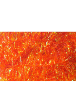 Hareline Krystal Flash Chenille - Hot Orange Medium