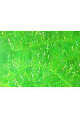 Hareline Krystal Flash Chenille - Chartreuse