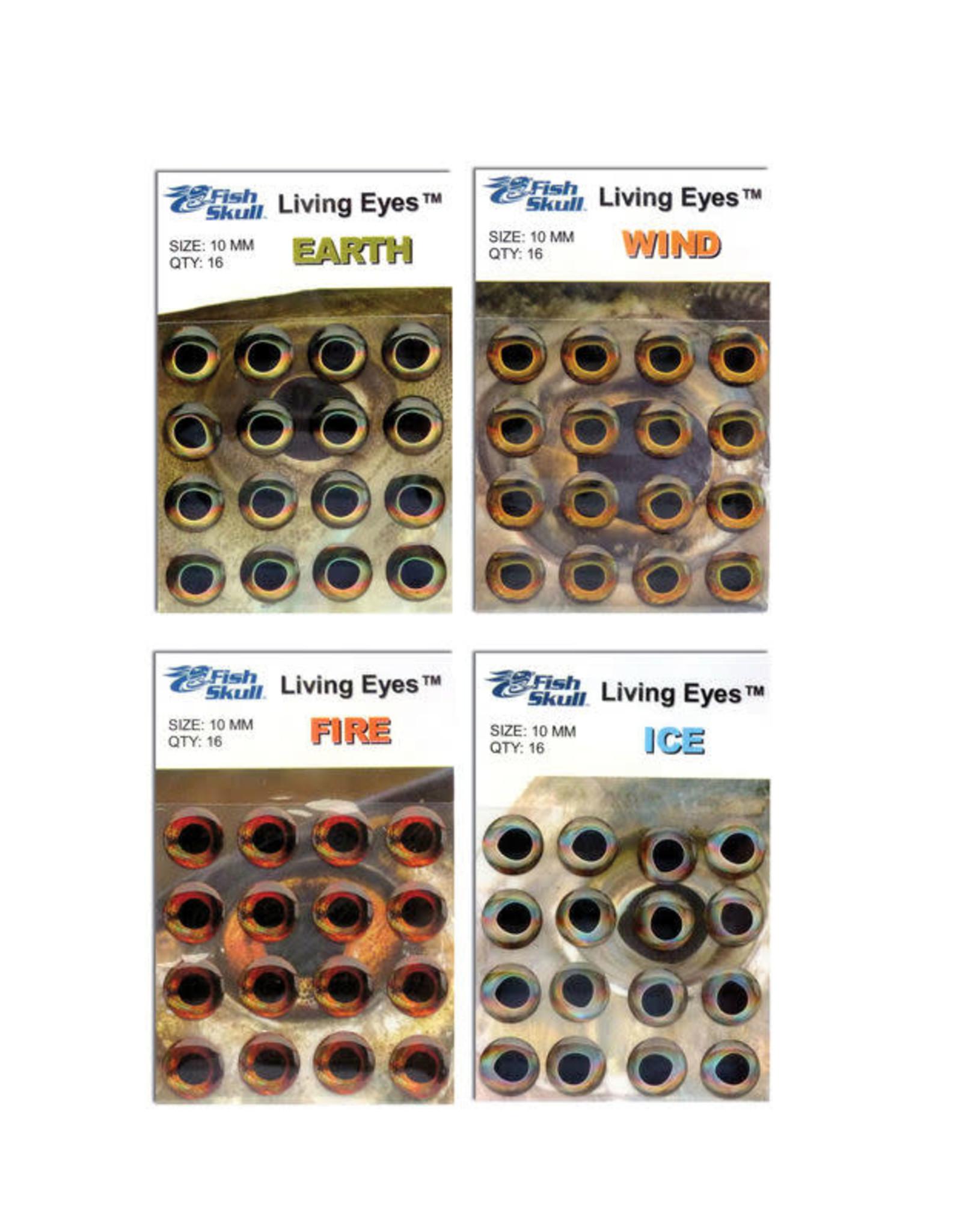Living Eyes - Fire 6mm