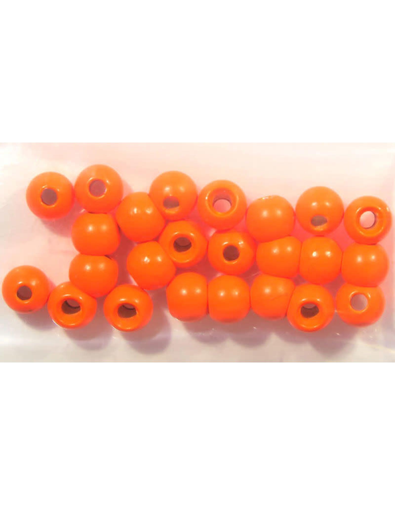 "Hareline Dazzle Beads - Fl. Orange 1/8"""