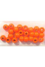 "Hareline Dazzle Beads - Fl. Orange 5/32"""