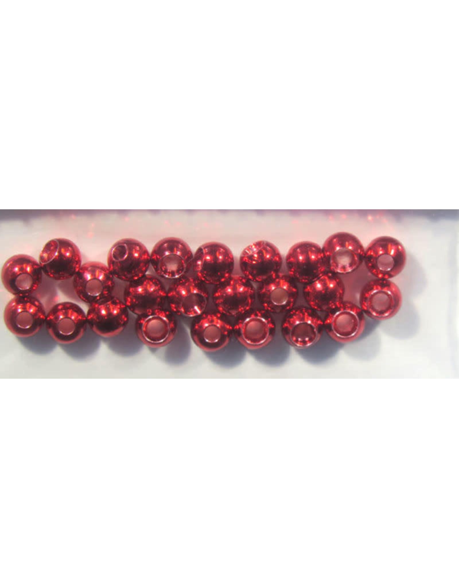 """Hareline Dazzle Beads - Metallic Red 1/8"""""""