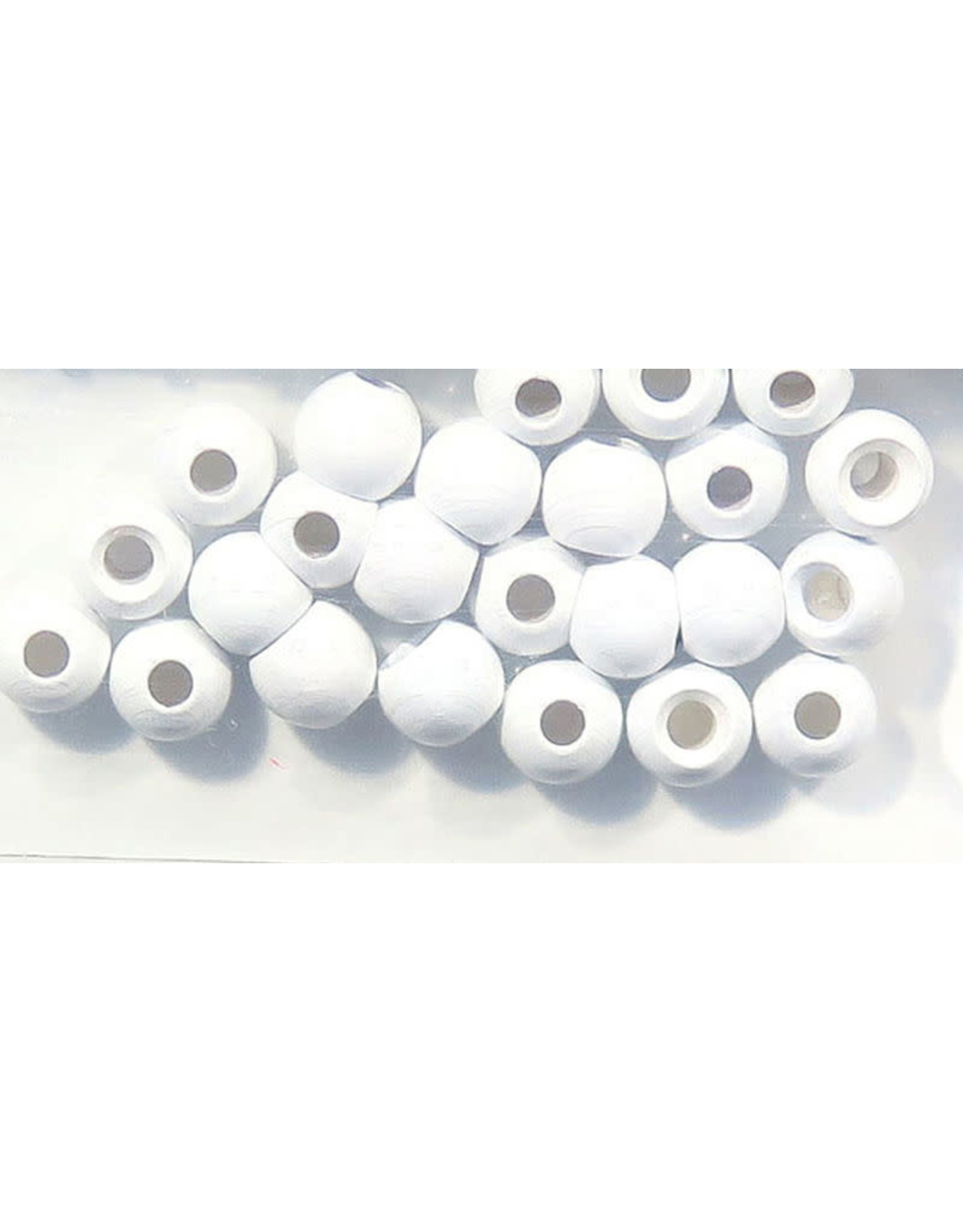 "Hareline Dazzle Beads - Pearl White 5/32"""