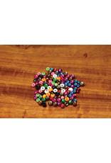 """Hareline Plummeting Tungsten Beads - Matte Black 3/16"""""""