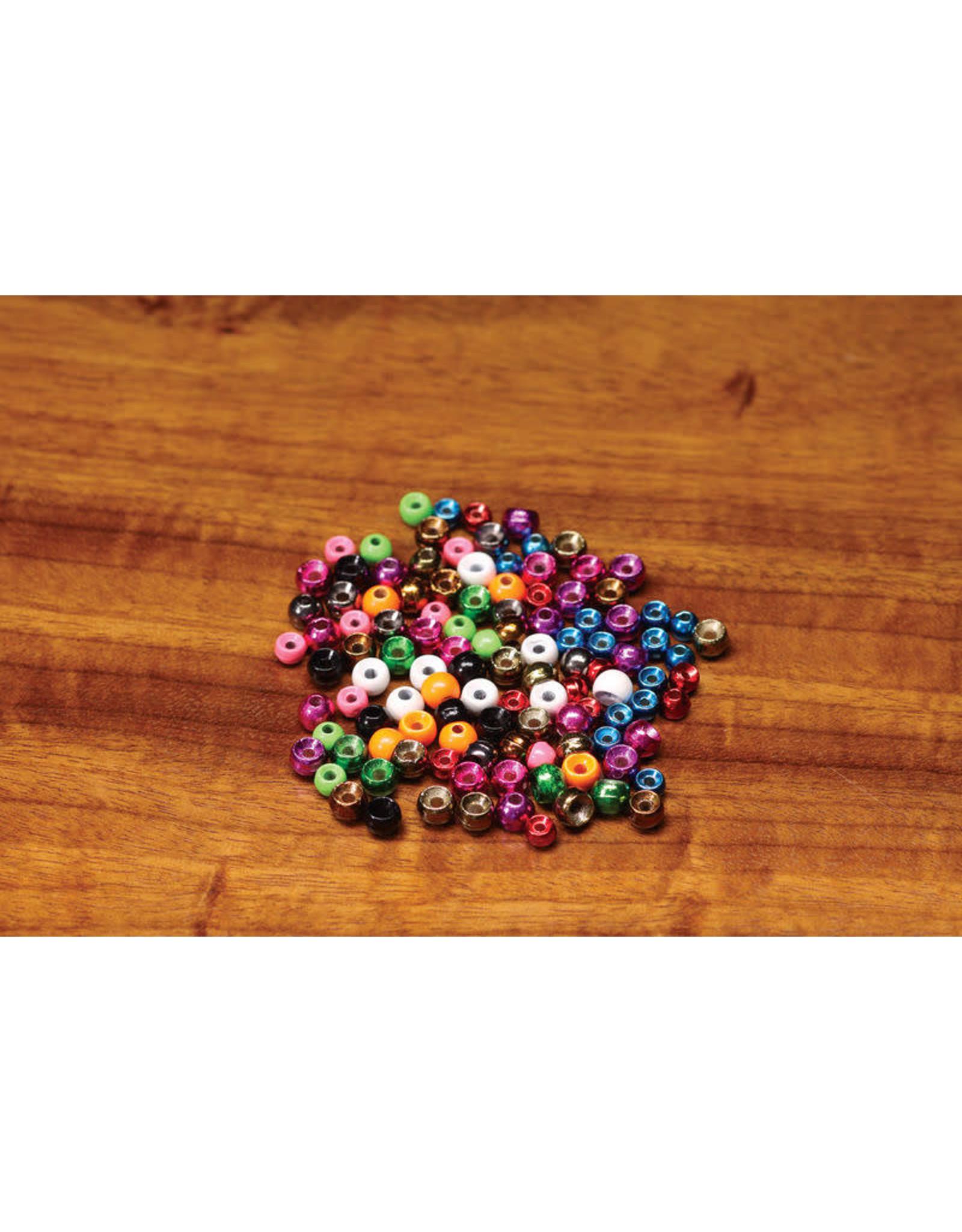"""Hareline Plummeting Tungsten Beads - Matte Black 7/64"""""""