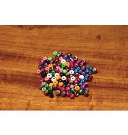 "Hareline Plummeting Tungsten Beads - Metallic Purple 1/8"""