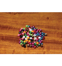 "Hareline Plummeting Tungsten Beads - Metallic Purple 7/64"""