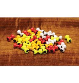 Hareline Painted Lead Eyes - Large Yellow PLEL383