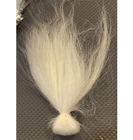 Squimpish Flies White Sparkle Blend Squimpish Hair