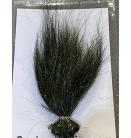 Squimpish Flies Neon Black Sparkle Blend Squimpish Hair