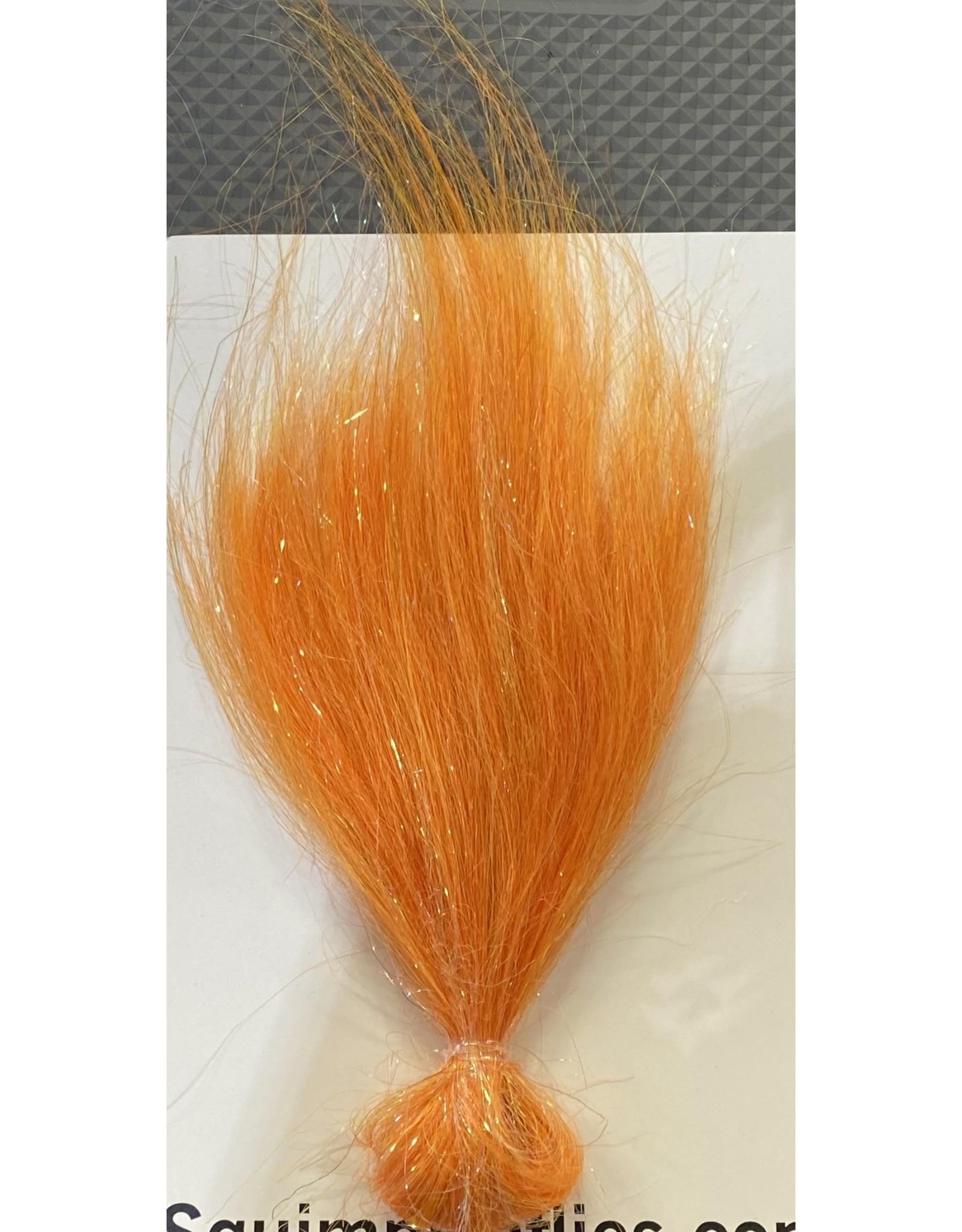 Squimpish Flies Orange Sparkle Blend Squimpish Hair