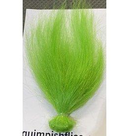 Squimpish Flies Chartreuse Sparkle Blend Squimpish Hair