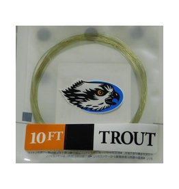 Trouthunter TroutHunter Nylon Leader 10' Trout