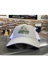 Simms Reid's/Simms Trucker Caps - Small Fit Grey/White Reid's Logo