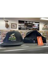 Simms Reid's/Simms Trucker Caps - Black Flatbill Reid's Logo