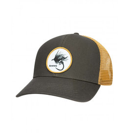 Simms Simms Dry Fly Rodeo Patch Trucker Cap - Foliage