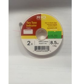 Rio Rio Two Tone Indicator Tippet - Pink/Yellow 2X