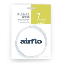 Airflo Airflo Bonefish Poly Leader 7' Clear Floating
