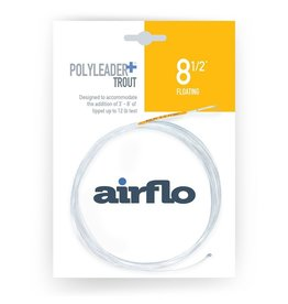 Airflo Airflo Trout Poly Leader+ 8.5' Floating w/Tippet Ring