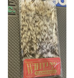 Whiting Farms Whiting Coq-de-Leon Tailing Pack - Grizzly Pardo