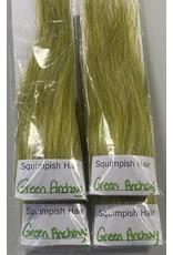 Squimpish Flies Green Anchovy Squimpish Hair
