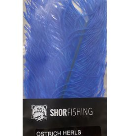 SHOR SHOR Ostrich Herl Royal Blue