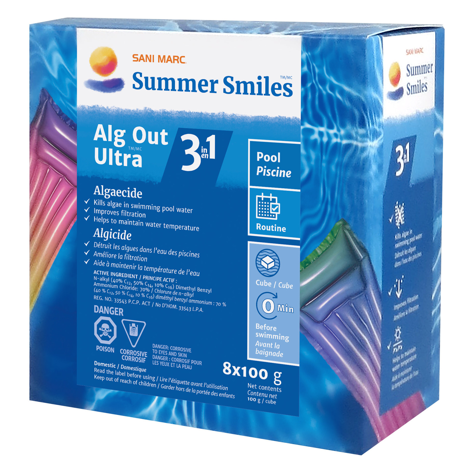 Summer Smiles SUMMER SMILES ALG OUT ULTRA 3 IN 1  8x100G