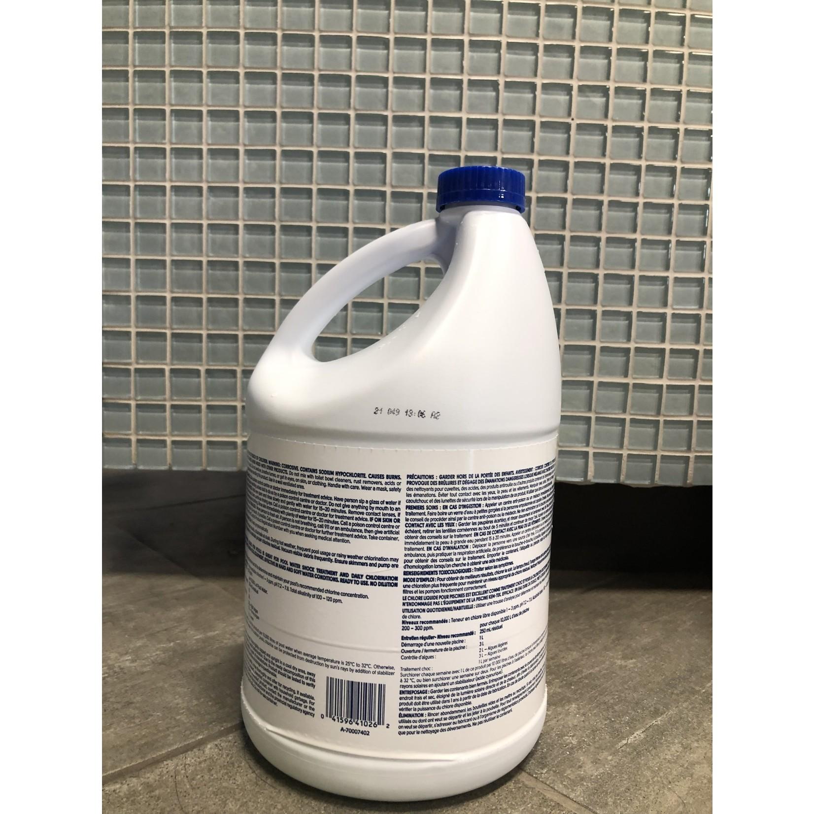 LIQUID CHLORINE  3x1GAL  10.5%