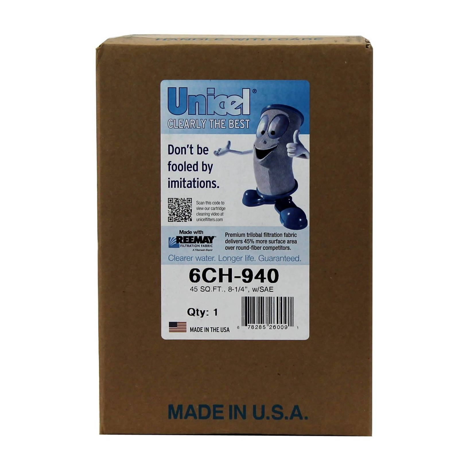 Unicel CARTRIDGE SPA 6CH-940