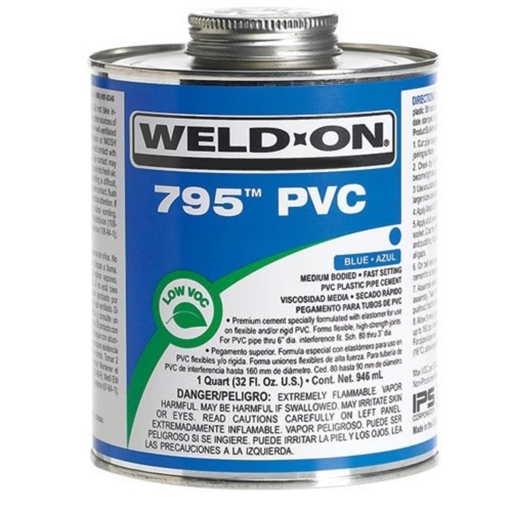 795 PVC CEMENT-CLEAR 1/4 PINT