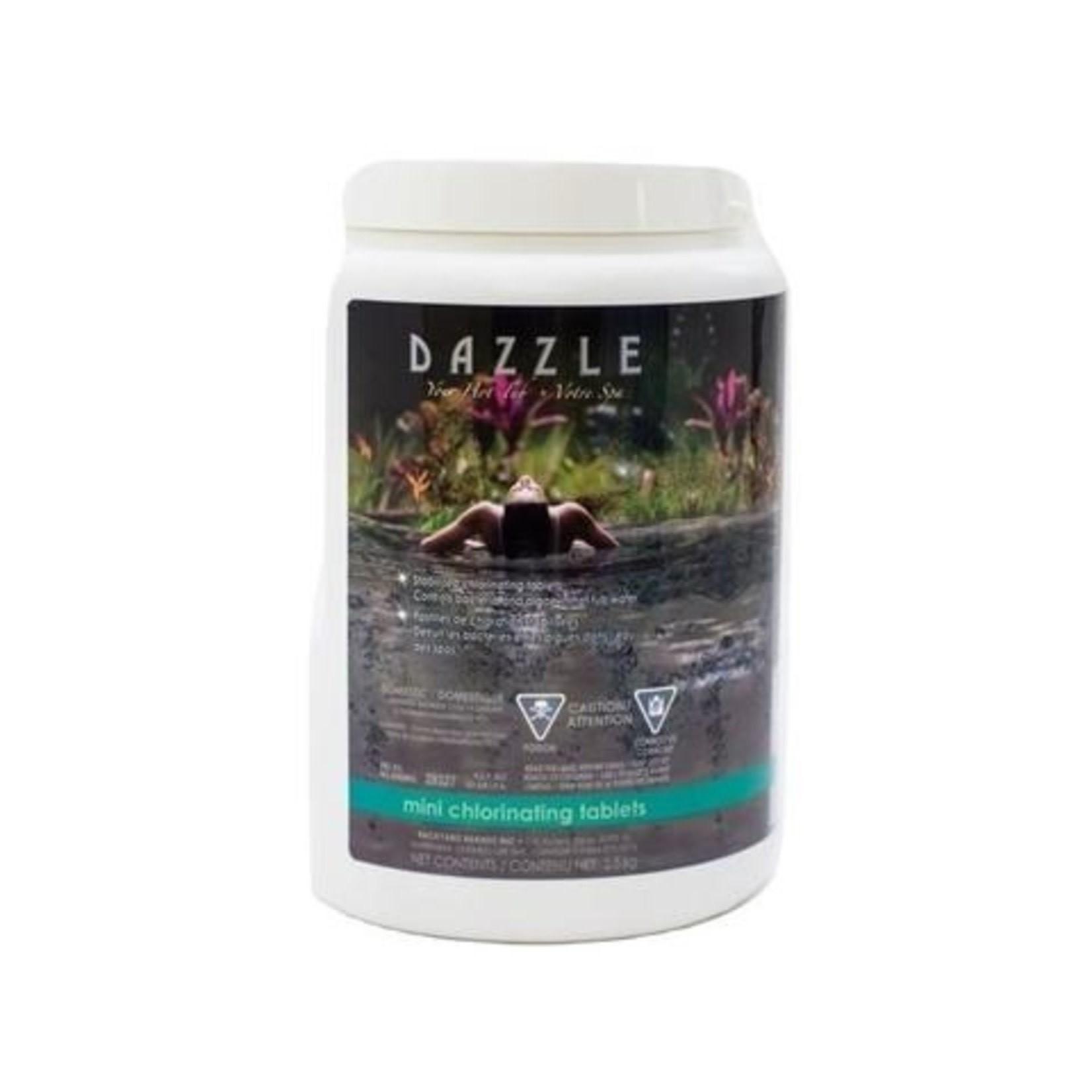Dazzle DAZZLE CHLORINE TABS SPA 2.5KG