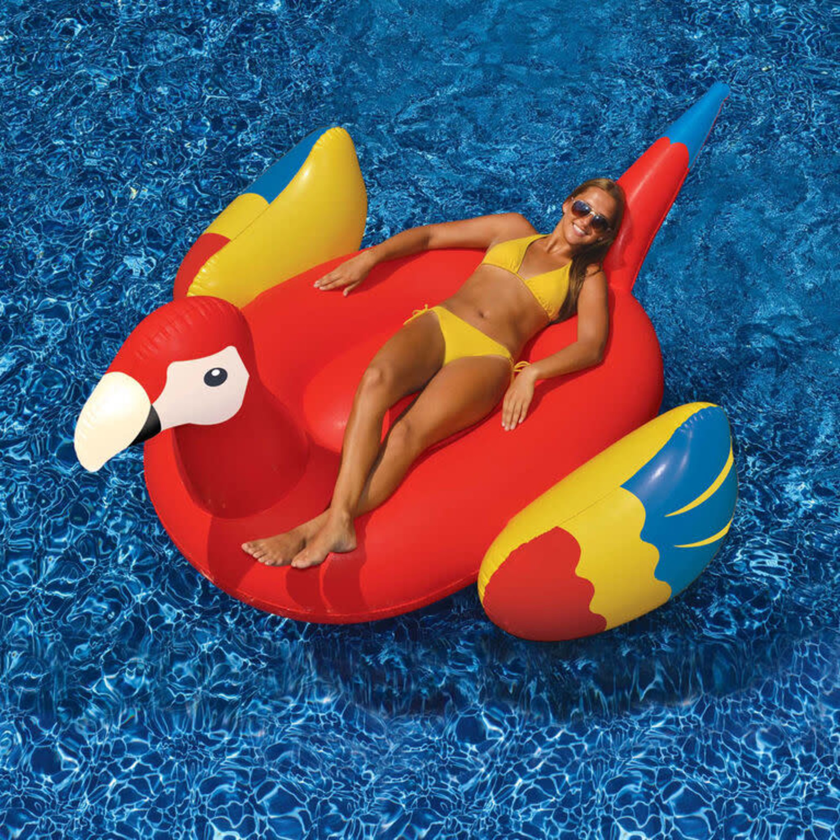 INFLATABLE GIANT PARROT