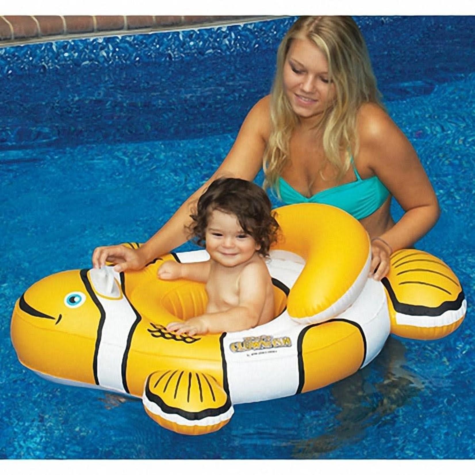 Swimline INFLATABLE CLOWNFISH BABY SEAT