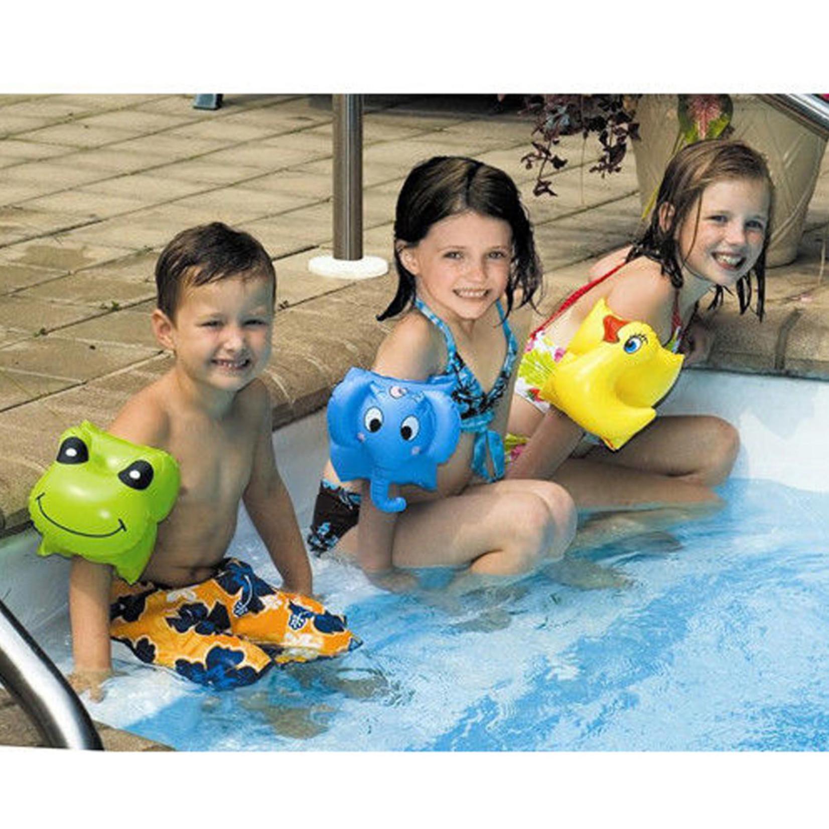 Swimline INFLATABLE ARMBANDS-ANIMALS