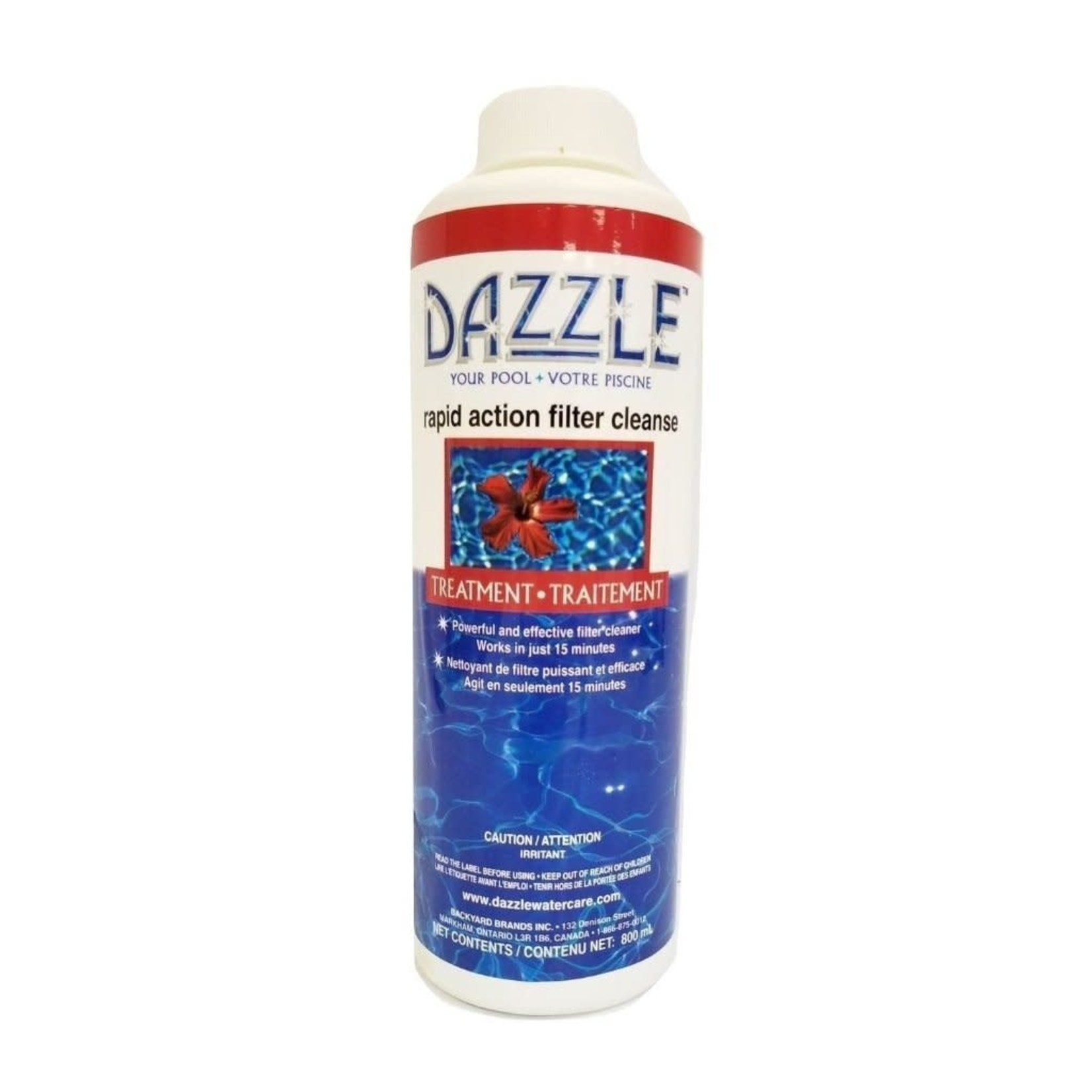 Dazzle DAZZLE RAPID ACTION FILTER CLEANSE POOL 800ML