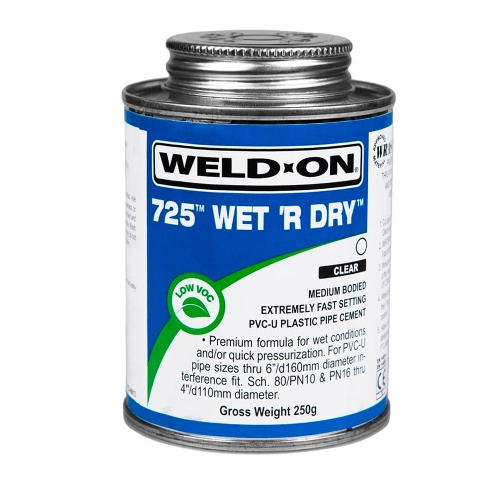 725 GLUE BLUE WET'R DRY.25PT