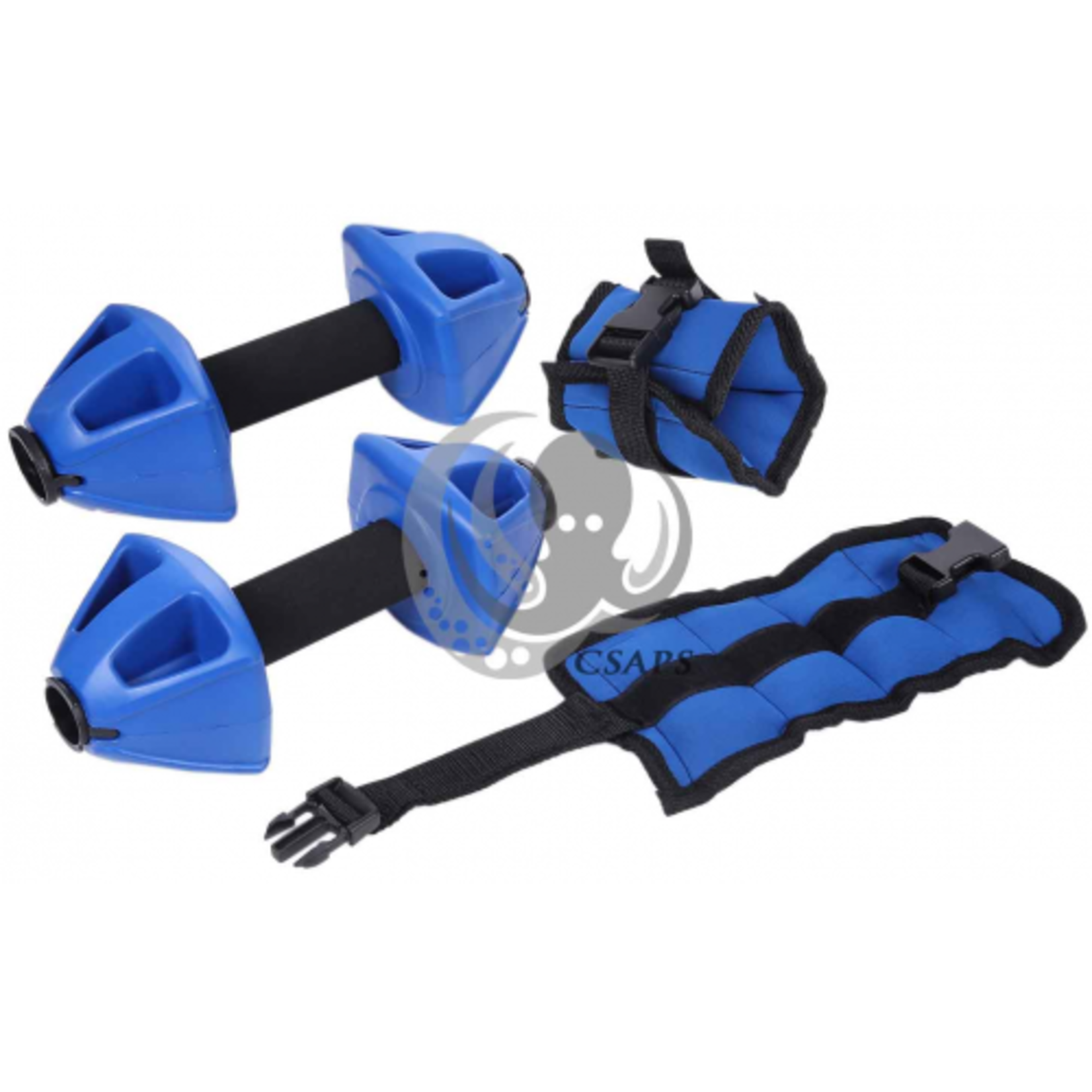 ProAqua VARIABLE RESISTANCE BARBELLS & ANKLE CUFFS
