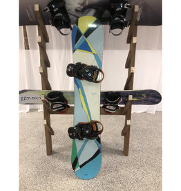 Various Burton Snowboard and binding 145cm