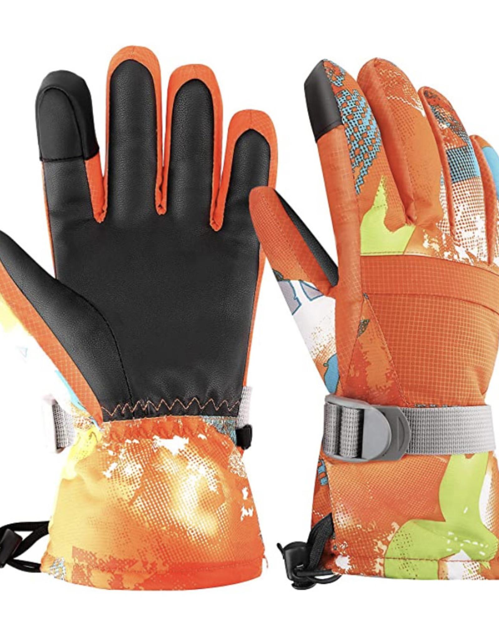Park Rat Orange is Black Glove