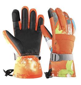 Park Rat Orange is Black Glove Large